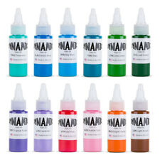 Dynamic Color tattoo ink set of all 1 oz colors Made in USA