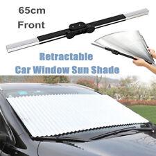Car Accessories Retractable Front Windshield Block Sun Shade Visor Folding