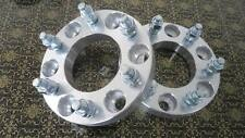 """(4) 1.25"""" Chevy GMC Hummer Wheel Spacers H3 Colorado Canyon 1.5 12x1.5 Studs"""