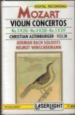 Christian Altenburger, Helmut Winschermann - Mozart Violin Sealed Cassette Tape
