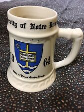 Commemorative Mug 1964 Bruce Potter Notre Dame Peace Corps Group