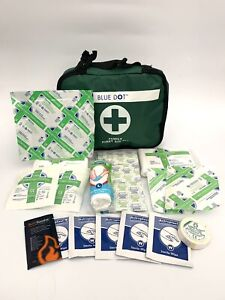 First Aid Kit - 112 Piece Medical Emergency Workplace Car Sports Travel Superior