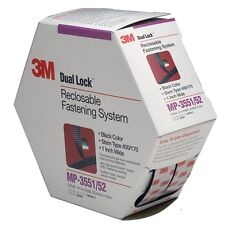 "3M Dual Lock Reclosable Fastening System, 1"" x 5yd, Black 06484"