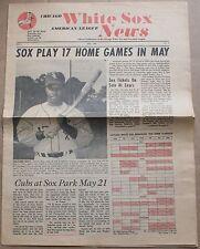 1970 Chicago White Sox News Fan Newspaper Carlos May Walt Williams Luke Appling