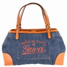 Gucci Denim Tote Bag Hawaii limited Hand Bag 348715 #DK99-345