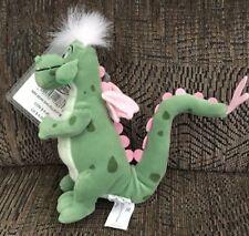 "Disney Pete's Elliot Dragon 8"" Beanbag Plush NWMT RARE"