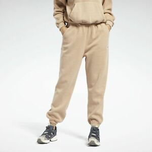 Reebok Classics Natural Dye Fleece Pants Women's Wild Brown Athletic Sweatpants