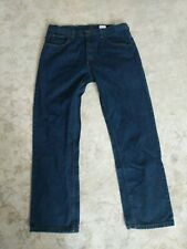 Men's Standard Fit Key Denim Jeans 38X32 Blue