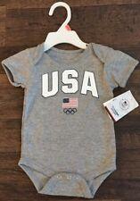 Team Usa Olympic Team Apparel One Piece - Size - 12M