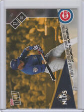 2017 Topps Now #PSB-4 4 RBO & Pair of Clutch Doubles Spark Cubs Addison Russell