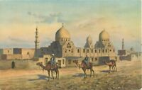 Postcard Cairo, Egypt - Tombs of the Califs A27