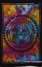 Hamsa Beautiful Design Cotton Wall Hanging Indian Cotton Tapestry Poster Indian