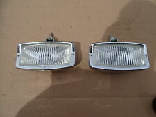 Early Porsche 911 912  Mercedes 190 Sl original Hella fog lamps