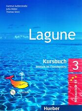 Hueber LAGUNE 3 Deutch als Fremdsprache KURSBUCH mit AUDIO CD Niveaustufe B1 NEW