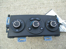 06 - 09 PONTIAC G6 BASE SE GT GXP A/C HEATER CLIMATE CONTROL OEM P/N 28116116