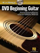 DVD Beginning Guitar BOOK/DVD  Hal Leonard At A Glance Chords Rhythm Songs Lead