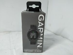 Garmin Forerunner 245 Music, GPS Smartwatch, Black
