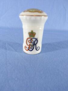 Arcadian Crested China With The Cypher King George V Pillar Box - Llandudno