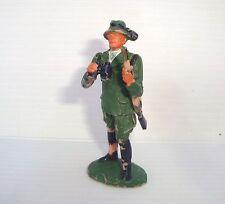 Figurine ancienne 7cm Elastolin Weichplastik Germany : chasseur - Hunter