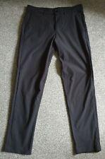 "LULULEMON Commission Pant Slim 32""W 32""L - Black - Brand New - RRP £118"