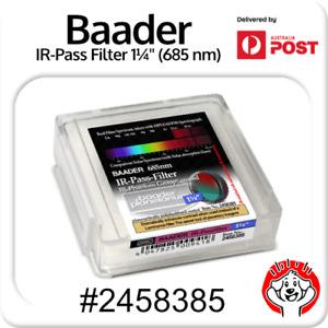 Baader Planetarium 1.25″ IR-Pass 685nm Filter #2458385 (Planetary Imaging)