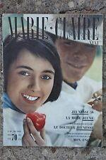 Marie Claire n°43 MAI 1958 JEUNESSE MODE TATI AUCLAIR