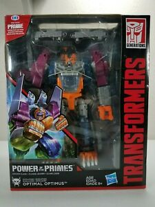 "Transformers ""Power of the Primes"" Optimal Optimus (Leader Class) Hasbro 2017"