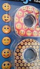 EMOJI 4 Rolls Decorative Smiley Tape - Great for Gifs. Crafts, Scrapbook, School