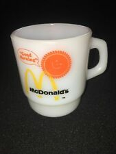 Vintage McDonalds Fire King Anchor Hocking Coffee Mug - Buy It Now
