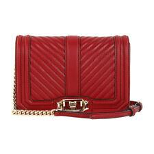 Rebecca Minkoff Chevron Ladies Small Leather Crossbody Handbag HR26ILVX45