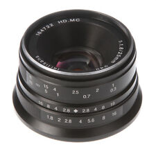 7artisans 25mm F/1.8 MF Prime Lens for Panasonic/Olympus M4/3 Micro Four Third