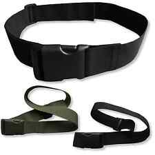 "2"" Webbing Belt with Quick Release Buckle Flexible Adjustable Military Workwear"