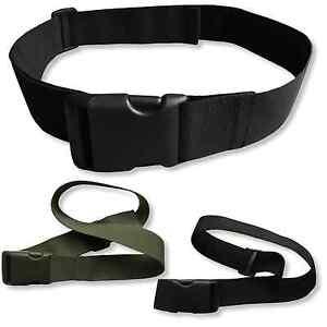 "2"" Webbing Belt with Quick Release Buckle Flexible Adjustable Military Workwear"