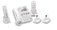 Vtech Careline Plus SN6197 Home Safety Senior Telephone System SN6307 (2) SN6167