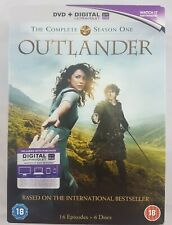 Outlander Season 1 Volumes 1 and 2 DVDs