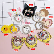New Cute 360° Universal Sailor Moon Ring Finger Holder Stand Phone Grip