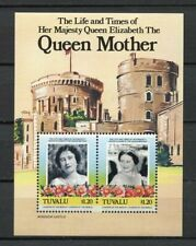 20105a) TUVALU 1985 MNH** Queen Mother s/s VARIETY
