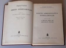 PRL) 1964 ANTIQUE BOOK LIBRO LIVRE DIRITTO AMMINISTRATIVO INTERNAZIONALE CEDAM