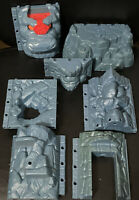 Fisher Price Imaginext Medieval Castle Rock Wall 7 Parts