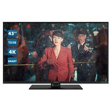 SMART TV 4K 43 Pollici Televisore Panasonic LED Ultra HD T2 WiFi TX-43GX555E ITA