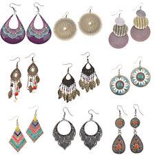 New Vintage Bohemian Boho Style Multi Designs Tassel Women Dangle Hook Earrings