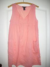 sehr leichtes Kleid in Gr XS von H&M lachs orange luftig für den Sommer