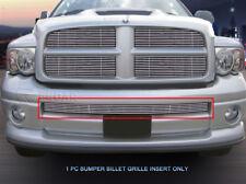 Lower Bumper Billet Grille Grill  For 2002 2003 2004 2005 Dodge Ram Sport