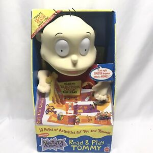 Nickelodeon Rugrats Collectible Read & Play Tommy RARE New