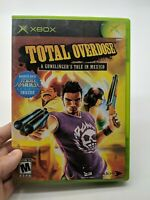 Total Overdose A Gunslinger's Tale in Mexico Complete In Box CIB W/ DVD Xbox
