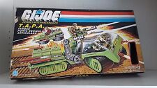 GI JOE VINTAGE T.A.P.A HAVOC TANK BOX ONLY WITH UNCUT CARD ARAH GIJOE G.I.JOE