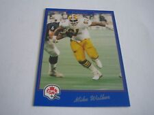 1991 JOGO CFL FOOTBALL MILK WALKER CARD #7***EDMONTON ESKIMOS***