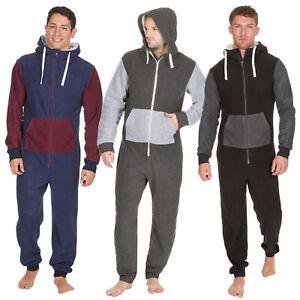 Mens 1Onesie Youths 1Onesie Mens All In one Pyjamas Mens Fleece All In One