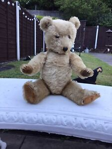 Antique Old Musical Chiltern Bear