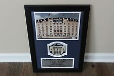 Yankee Stadium Final Season Framed Photos w/ 2008 Patch Commemorative Series